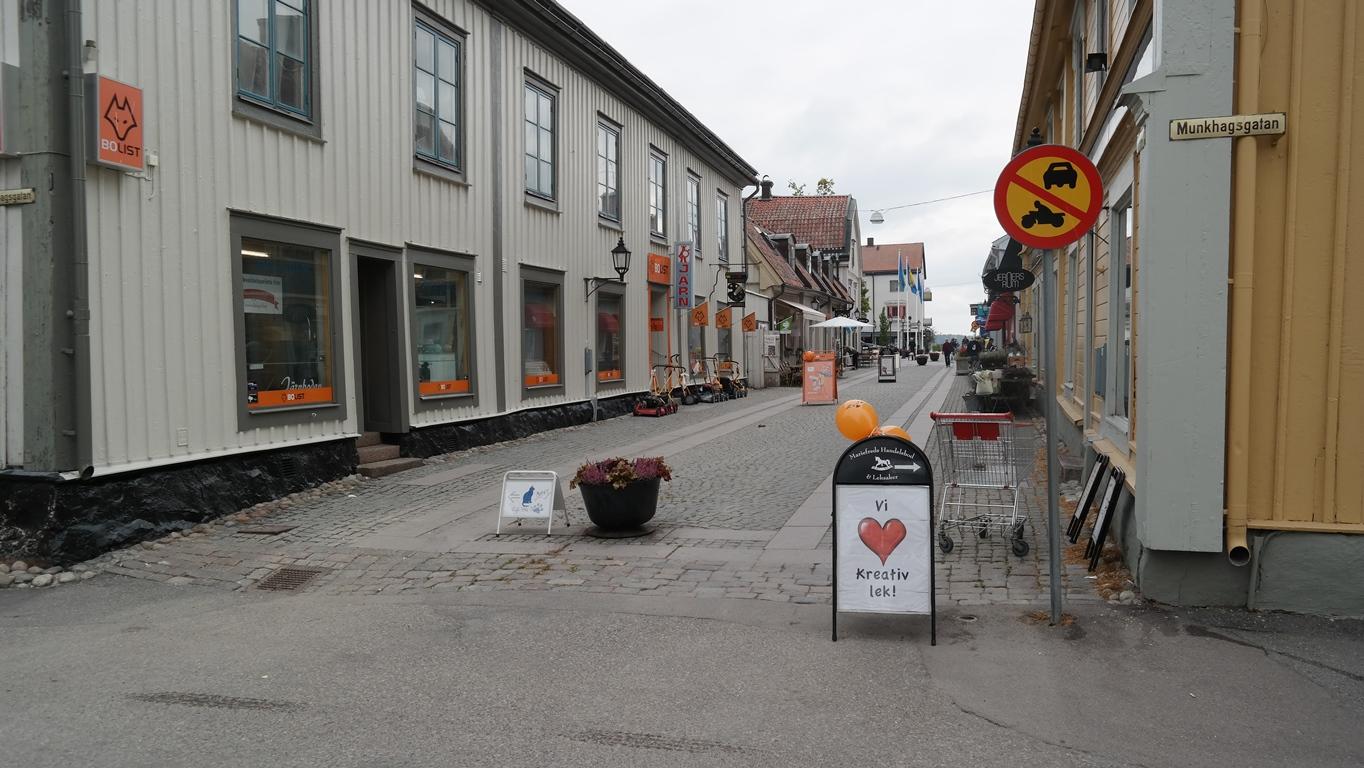 """Lilla"" Storgatan i Mariefred"
