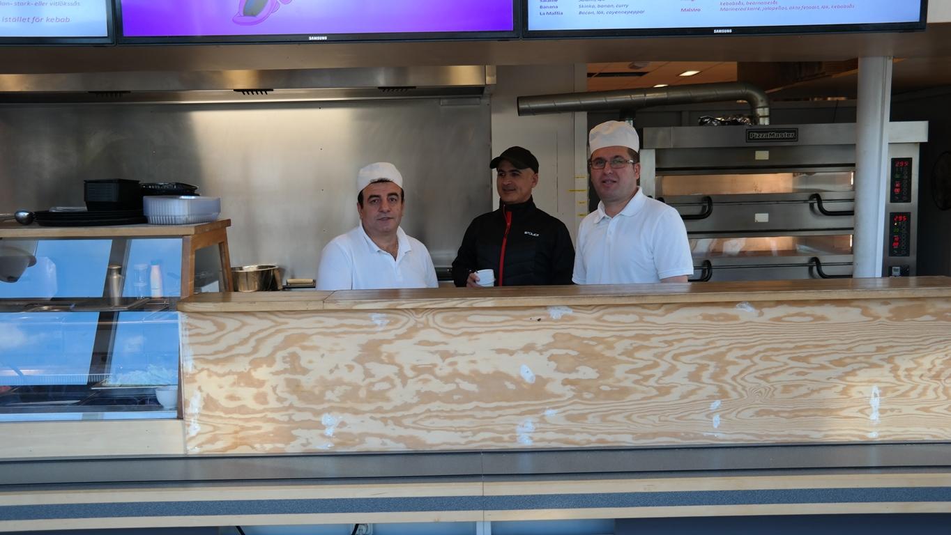 Pelle, Ghassan & Anders